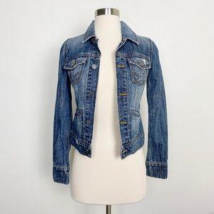 Juicy Couture Jeans Medium Wash Denim Jean Jacket